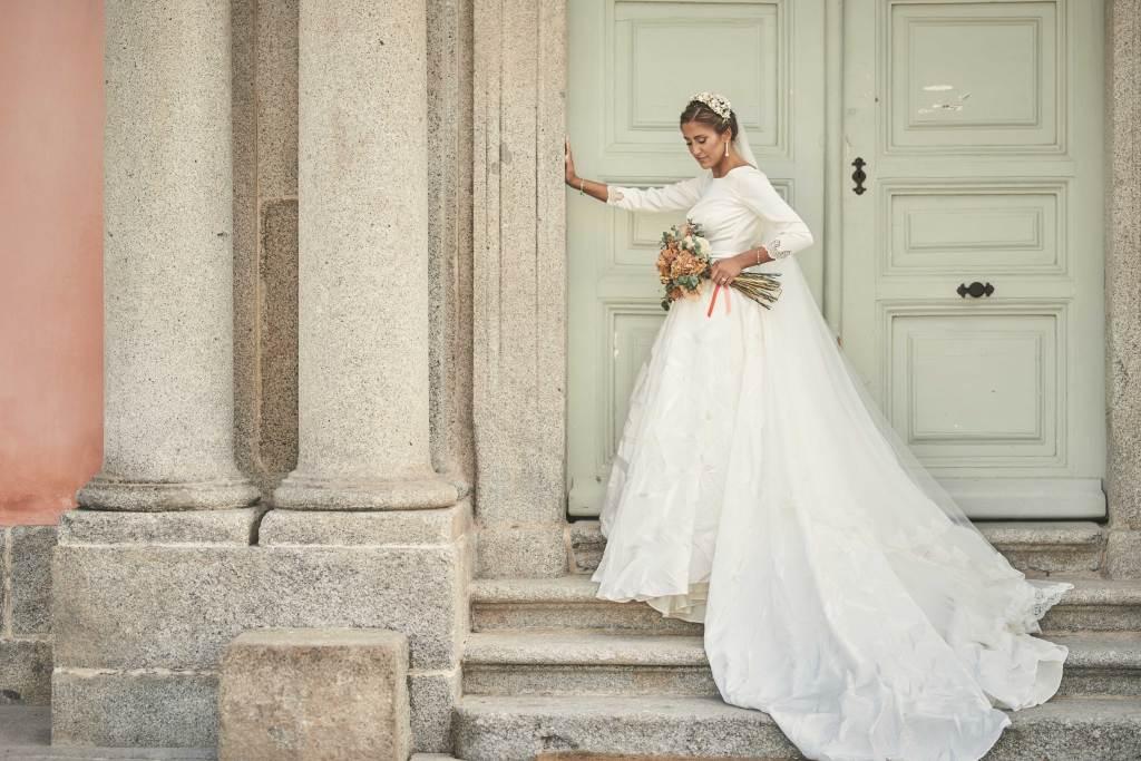 Diseñadora de vestidos de novia