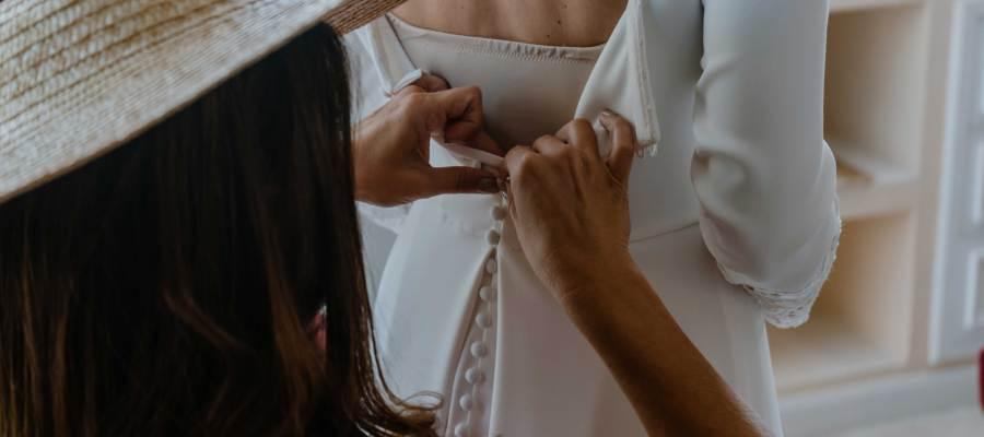 Laura Malingraux atelier vestidos novia Majadahonda